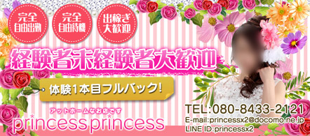 PRINCESSPRINCESS - 水戸・ひたちなかのデリヘル求人情報