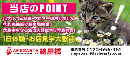 名古屋 ヘルス・AVハーツ納屋橋店
